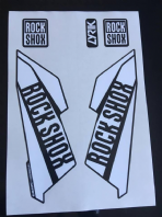 Rock Shox Lyrik 2016 Decals